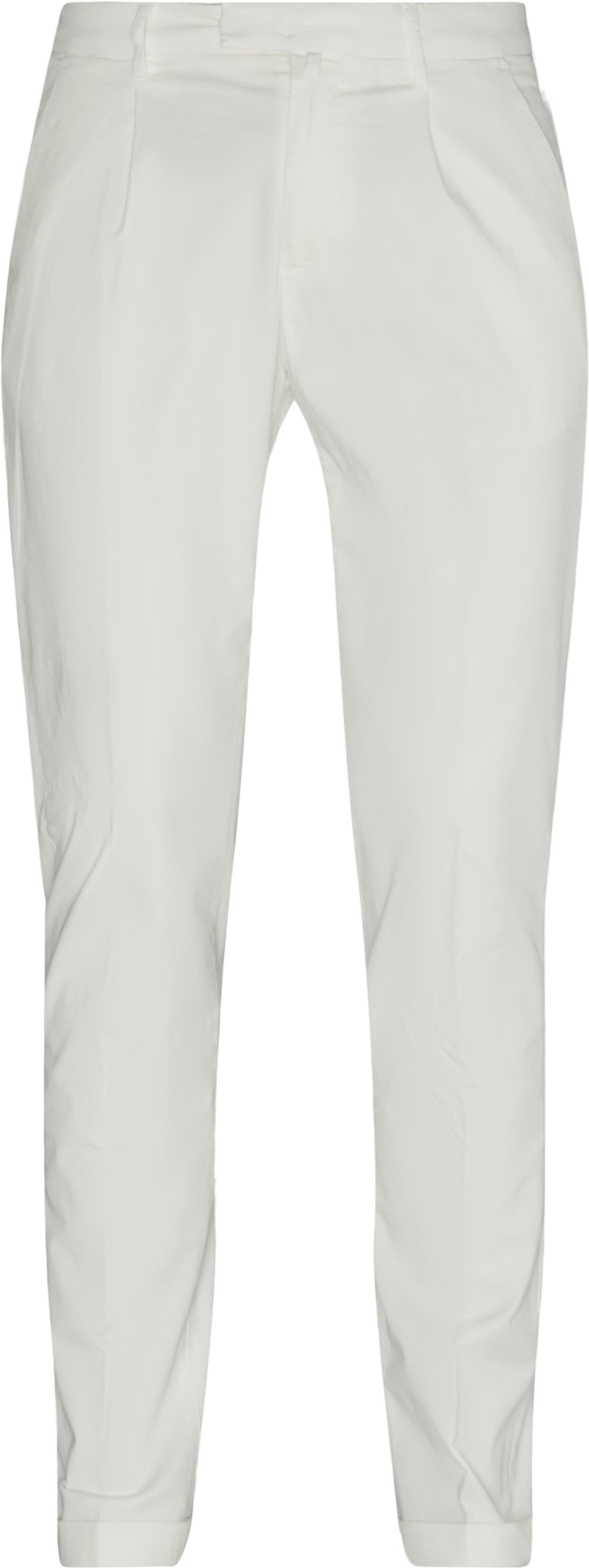 Chinos - Bukser - Slim fit - Hvid
